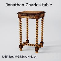 Jonathan Charles table