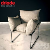 Armchair ELISA by Driade