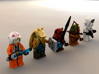Lego Star Wars Minifigures Collection - Set 3