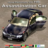 Assassination Car ( Arap Diplomatic )