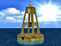 Deep Sea Buoy 3D Model