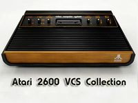 Atari 2600 VCS Collection 3D Model