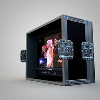 HD Reference Monitor with Flight Case
