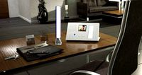 Carus Desk Lamp Dual Charger