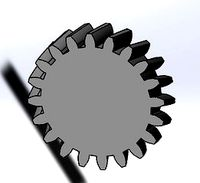 Helical gear library