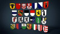 Swiss Canton Coats of Arms