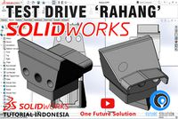 SolidWorks Tutorial Indonesia #029 (Eng Sub) - Test Drive 'Rahang'