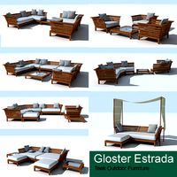 Gloster Estrada teak deep seating