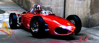 Ferrari 156 F1 Dino 1961 last renderings and 3d model