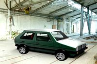Golf GTI (designing and simulating)