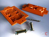 Match plate for sand casting 03