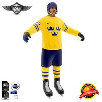 Hockey Player Sweden