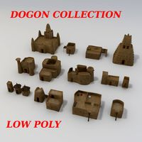 Dogon Buildings Collection