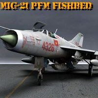 MiG-21 PFM Fishbed F for Poser