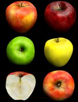 Apples - Red, green, yellow