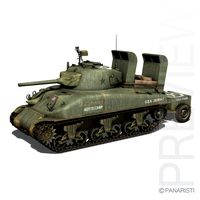 M4A1 Sherman Deep wading gear
