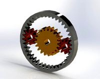 Planetary Gear Drive in SolidWorks