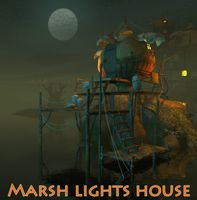 Marsh lights house