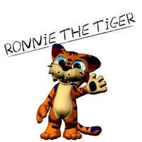Ronnie the Tiger - Mesh only