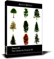 Dosch 3D - Tree Library for Cinema 4D