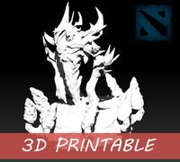 3D Printable Shadow Fiend