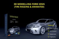 Ford Iosis concept 2005 with (Tire rigging & Animated)