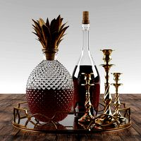 Pineapple Whisky Set