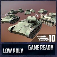 USSR Toon Light Tanks Pack