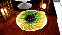 Sliced fruits Norvedem food