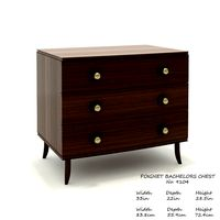 Baker Poignet bachelors chest No.9104 by Laura Kirar