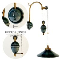 Hector Finch FRENCH CERAMIC WALL LIGHT, RISE AND FALL