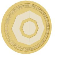 komodo gold coin