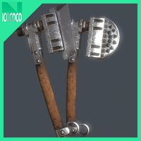 Heavy axe set