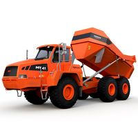 Articulated Truck Doosan Moxy MT41 Rigged
