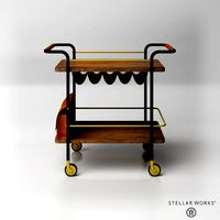Stellar Works_Valet Bar Cart