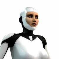 Female Android (Rigged)
