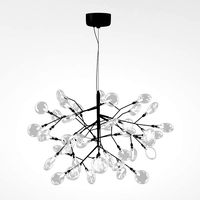 LED chandelier Crystal lux EVITA SP63 BLACK