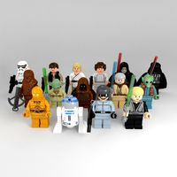 LEGO Rigged Star Wars Minifigures