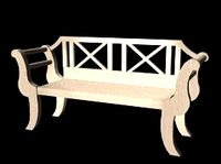 Garden Bench Lwo.zip