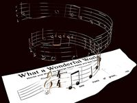 What a wonderful world - Louis Armstrong - Notes