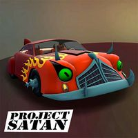 Project Satan Futurama Car