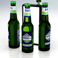 Beer Bottle Birell Isotonic 400ml 2019