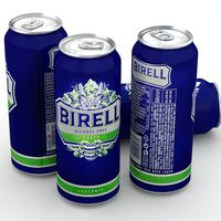 Beer Can Birell Alcohol Free Lager Isotonic 500ml