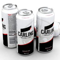 Beer Can Carling Lager 500ml