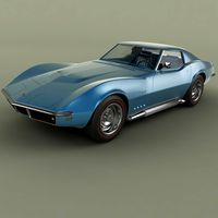 Chevrolet Corvette C3 Coupe 427  1969