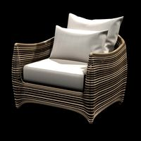 artefacto st bart outdoor lounge wicked  chair