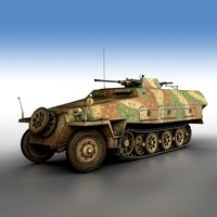 SD.KFZ 251/17 - Ausf.D - Anti-Aircraft-Vehicle