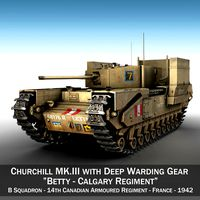 Churchill MK.III - Betty