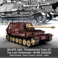 Ferdinand Tank destroyer - Tiger (P) - Last produced vehicle