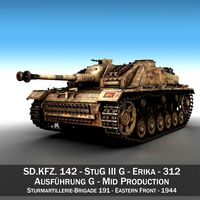 StuG III - Ausf.G - 312 - Mid Production